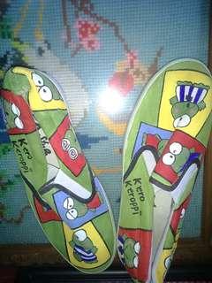 Sepatu lukis