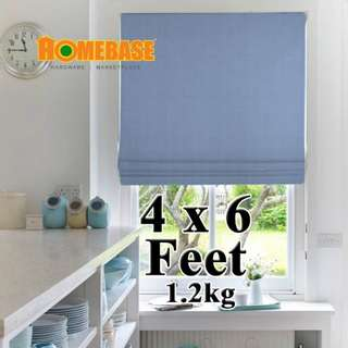 HOMEbase BlackOut Blind (140cm x180cm) *Blue