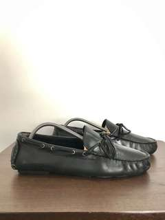 Hush Puppies Loafers Driving Leather Shoes