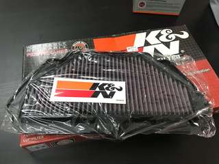 K&N Air filter Kawasaki ZX6R (2009-2012)