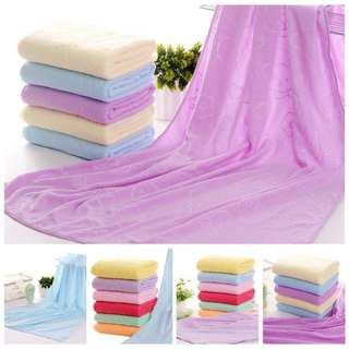 Towels 3 for $10, soft microfiber 70x140 (in stock)