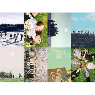 8 Pieces BTS Wall Poster / Posters