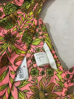 H&M summer floral rompers