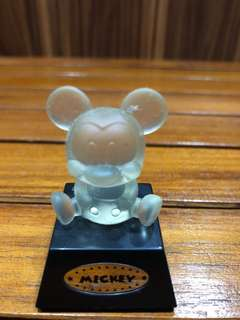 Mickey Mouse Classic Collectible Display On Stand