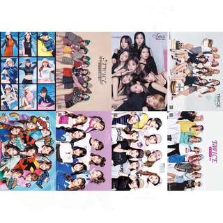 8 Pieces Twice Wall Posters / Poster