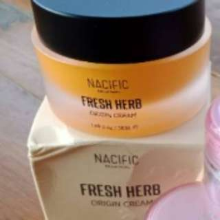 Fresh herb origin cream nacific
