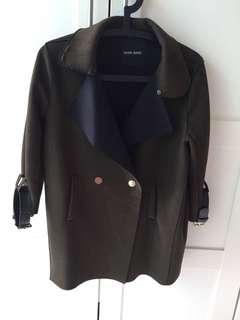 韓國時尚性感軍綠外套