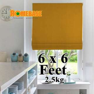 HOMEbase BlackOut Blind (180cm x190cm) *Orange