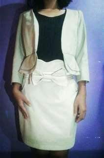 Formal wear ( blazer & skirt )