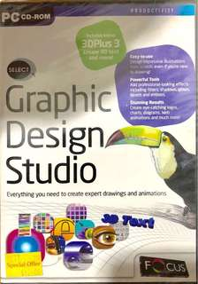 Graphic Design Studio CD-ROM