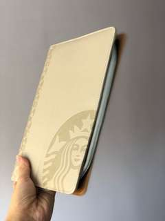 Starbucks leather planner