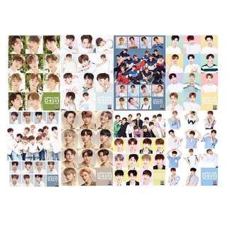 8 Pieces Wanna One Wall Posters / Poster