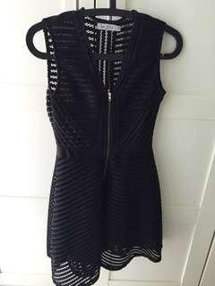義大利時尚性感氣質黑洋裝