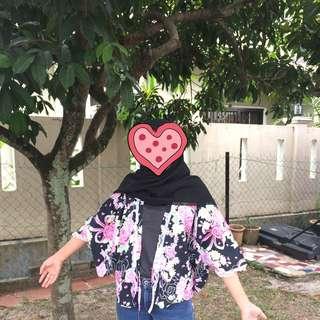 (FREE POSTAGE) Floral Cardigan