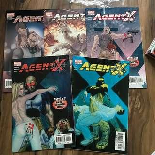 Agent X 8-12