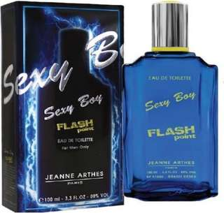 Sexy Boy Flash Jeanne Arthes EDT 100ml for men