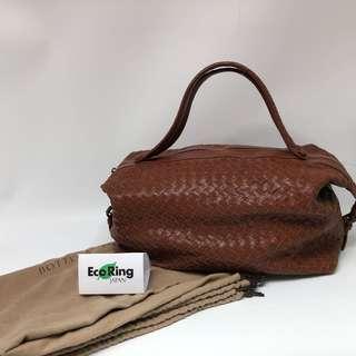 Bottega Veneta 啡色 Brown 手挽袋 Handbag 100%真品