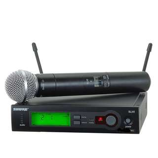 Shure SLX2 and SLX4 - P4 set! Professional Wireless Microphone