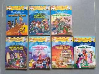 Geronimo Stilton: Thea Stilton books