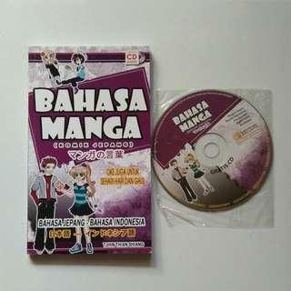 Buku Bahasa Manga + CD