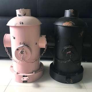 Fire Hydrant Design Trash Bin
