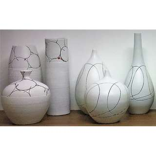 🚚 Porcelain VASE 3 Piece Set