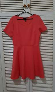 REPRICED: Forever 21 Coral-colored Dress