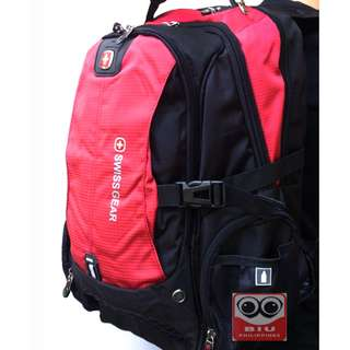 SwissGear Urban Tactical Backpack (Red)