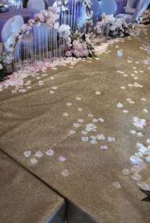 Wedding Glitter Carpet