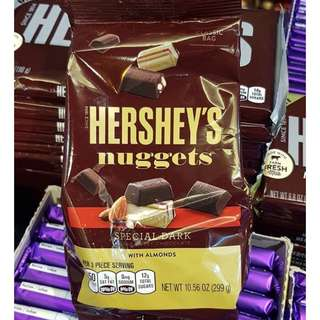 Hershey's Nuggets Special Dark with Almonds 299g