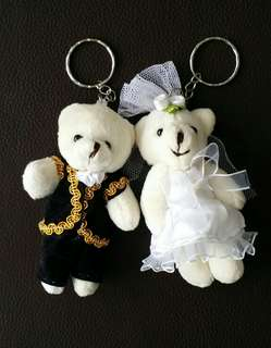 Bear Couple Set Keychain