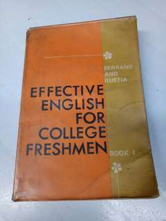Effective english for college men