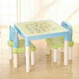 OFFER KIDS  TABLE 2 CHAIR