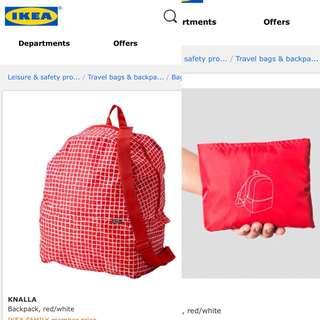 IKEA Foldable Backpack