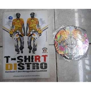 Buku T-Shirt Distro, Kiat Desain T-Shirt Menggunakan Corel Draw