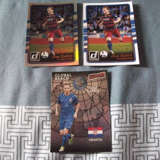 Ivan Rakitic Panini trading cards for trade/sale (Lot of 3 cards)
