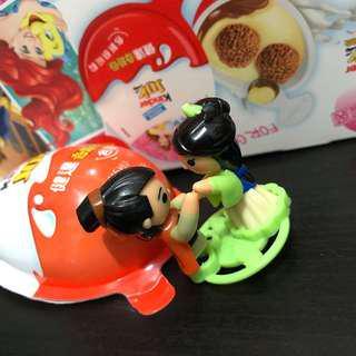 ( 包本港平郵 )Kinder 出奇蛋玩具 - 花木蘭款