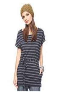 Forever 21 Short Sleeve Belted Tunic