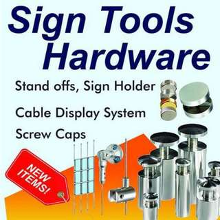 Sign Tools Hardware