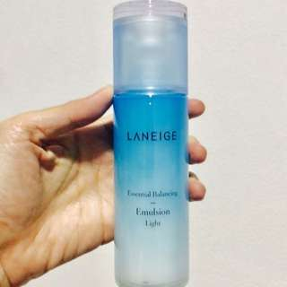 TERMURAH! LANEIGE ESSENTIAL BALANCING EMULSION LIGHT FOR COMBINATION TO OILY