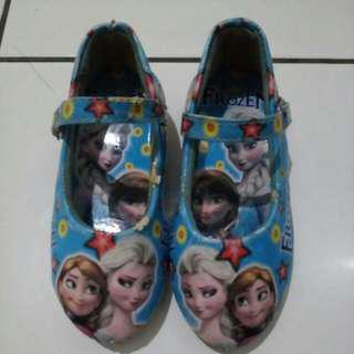 Sepatu heels frozen #carouhb