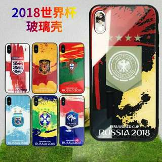 World Cup 2018 iPhone Glass Casing