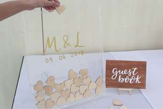 Wedding Guest Book Drop