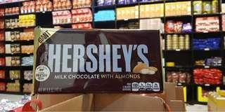 Hershey's Giant Milk Chocolate with Almonds