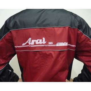 Brand new Arai rain coat set with bag
