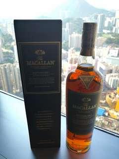 macallan edition no.1 麥卡倫 台灣版:背標繁體字