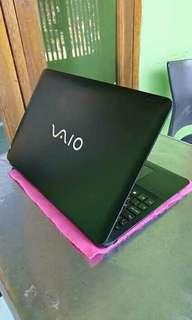 Laptop vaio mulus lengkap