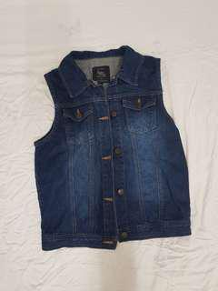 Denim Vest cotton on