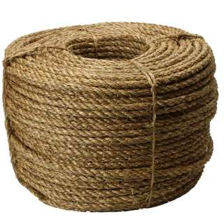 🚚 Manila rope, manila rope, fiber rope natural