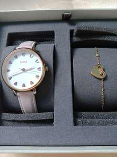 Jam Fossil Pink